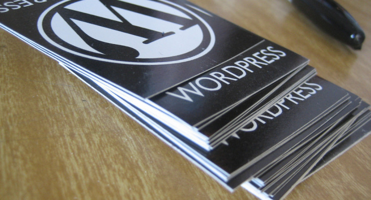 WordPress swag, por Elea Chang, en Flickr