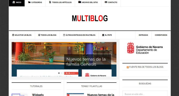 Presentación de la plataforma Multiblog