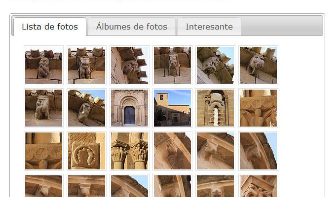 Figura 2 - Galería de fotos de Flickr