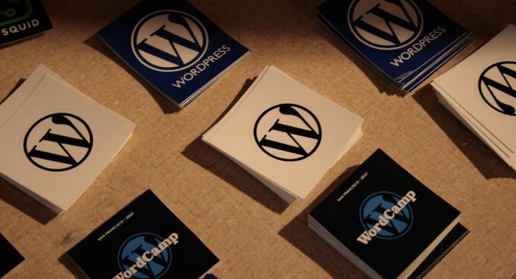WordPress Stickers, por Naoko Takano, en Flickr