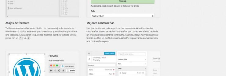Actualización a WordPress 4.3